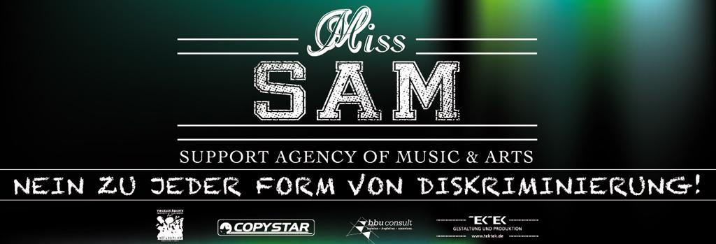 BANNER Miss Sam Agentur Jazzsommer 2013